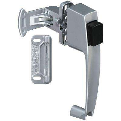 1-3/4 in. Silver Push Button Latch
