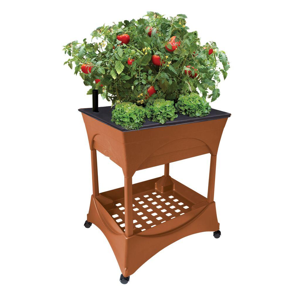 CITY PICKERS Easy Pickers Raised Garden Grow Box With Stand 2335   The Home  Depot