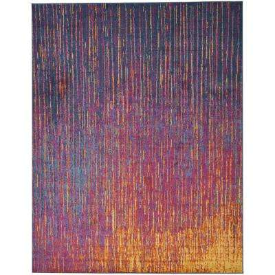 Passion Multicolor 8 ft. x 10 ft. Area Rug