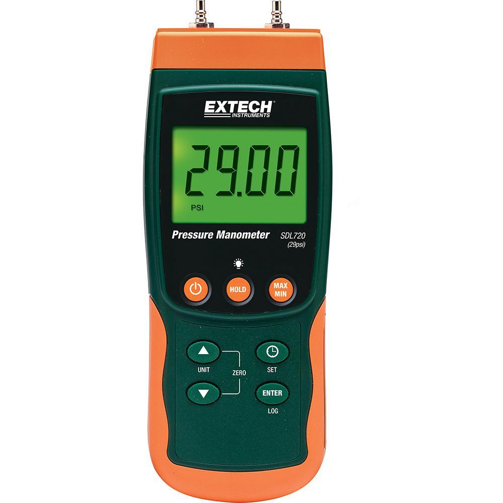 Differential Pressure Manometer/Datalogger