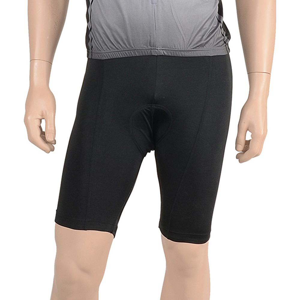 Cycle Force Triumph Unisex Black 6 Panel Cycling Shorts