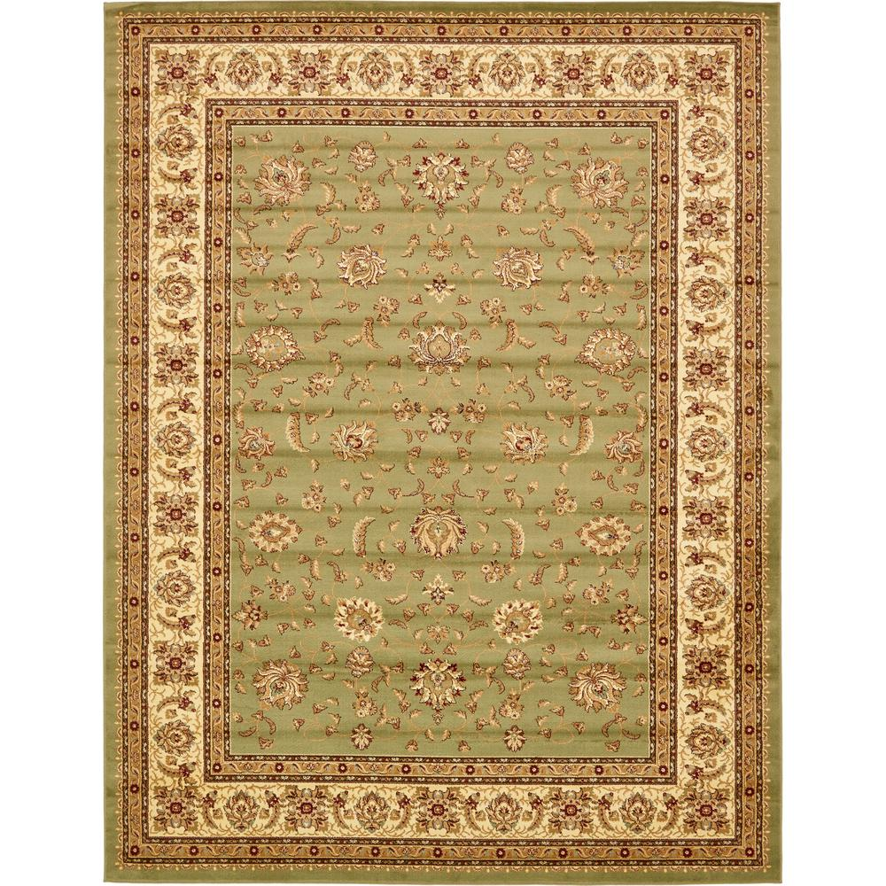Voyage St. Louis Green 10' 0 x 13' 0 Area Rug