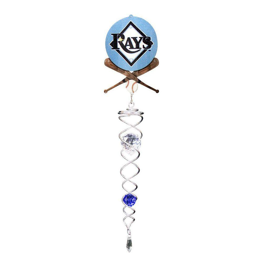 Iron Stop Tampa Bay Rays Crystal Wind Twister
