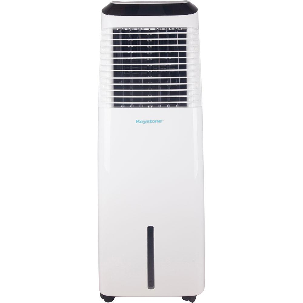 Keystone 418 CFM Indoor Evaporative Air Cooler with Wi-Fi Function in White for 600 sq. ft.