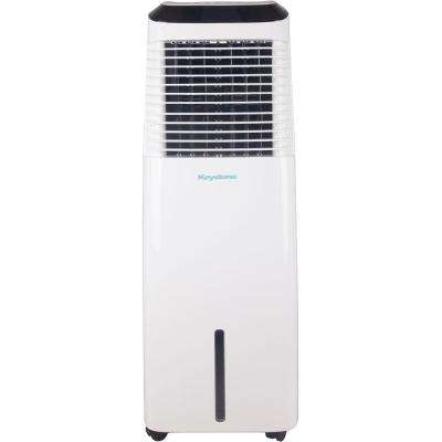 418 CFM Indoor Evaporative Air Cooler with Wi-Fi Function in White for 600 sq. ft.