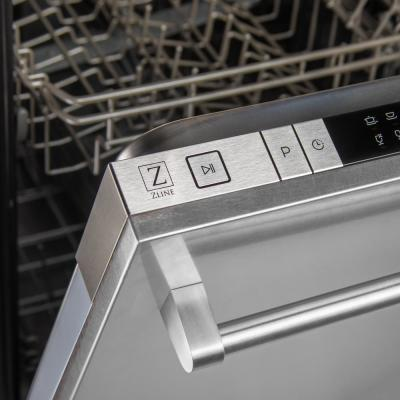 18 in. Top Control Dishwasher in DuraSnow Finished Stainless Steel with Stainless Steel Tub and Traditional Style Handle