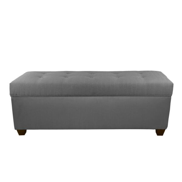 MJL Furniture Designs Sean HJM100-3 Gray 10 Button Tufted Upholstered Large