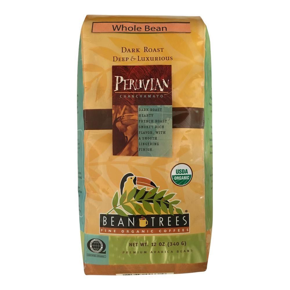 12 oz. Peruvian Chanchamayo Coffee Whole Beans (3-Bags)