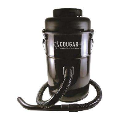 6 gal. Cougar Ash Canister Vacuum Cleaner in Black