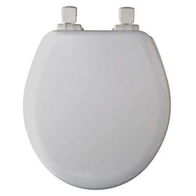 NextStep Round Closed Front Toilet Seat in White