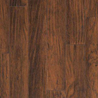 Farmstead Hickory Laminate Flooring - 5 in. x 7 in. Take Home Sample