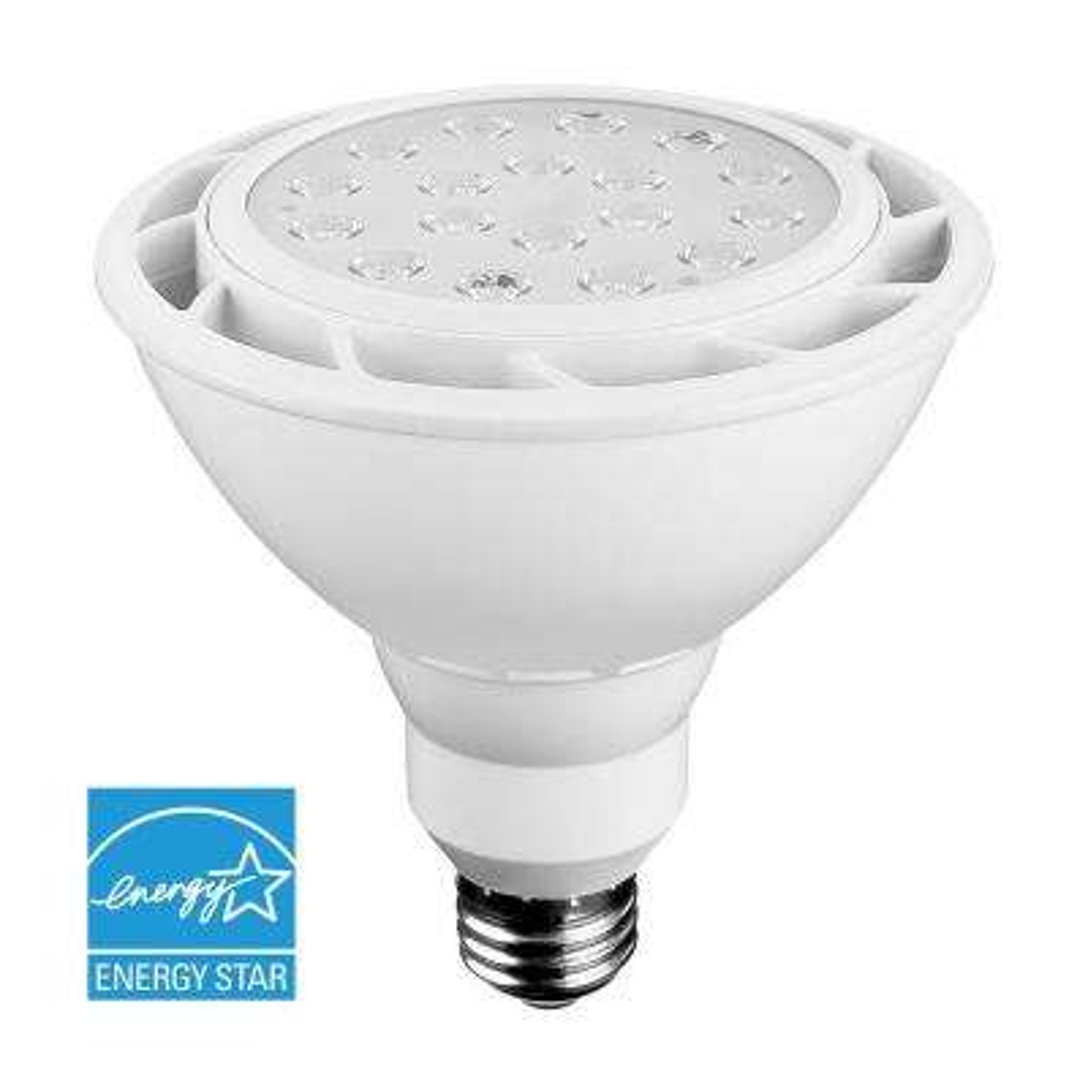 100W Equivalent White PAR38 Dimmable LED Flood Light Bulb