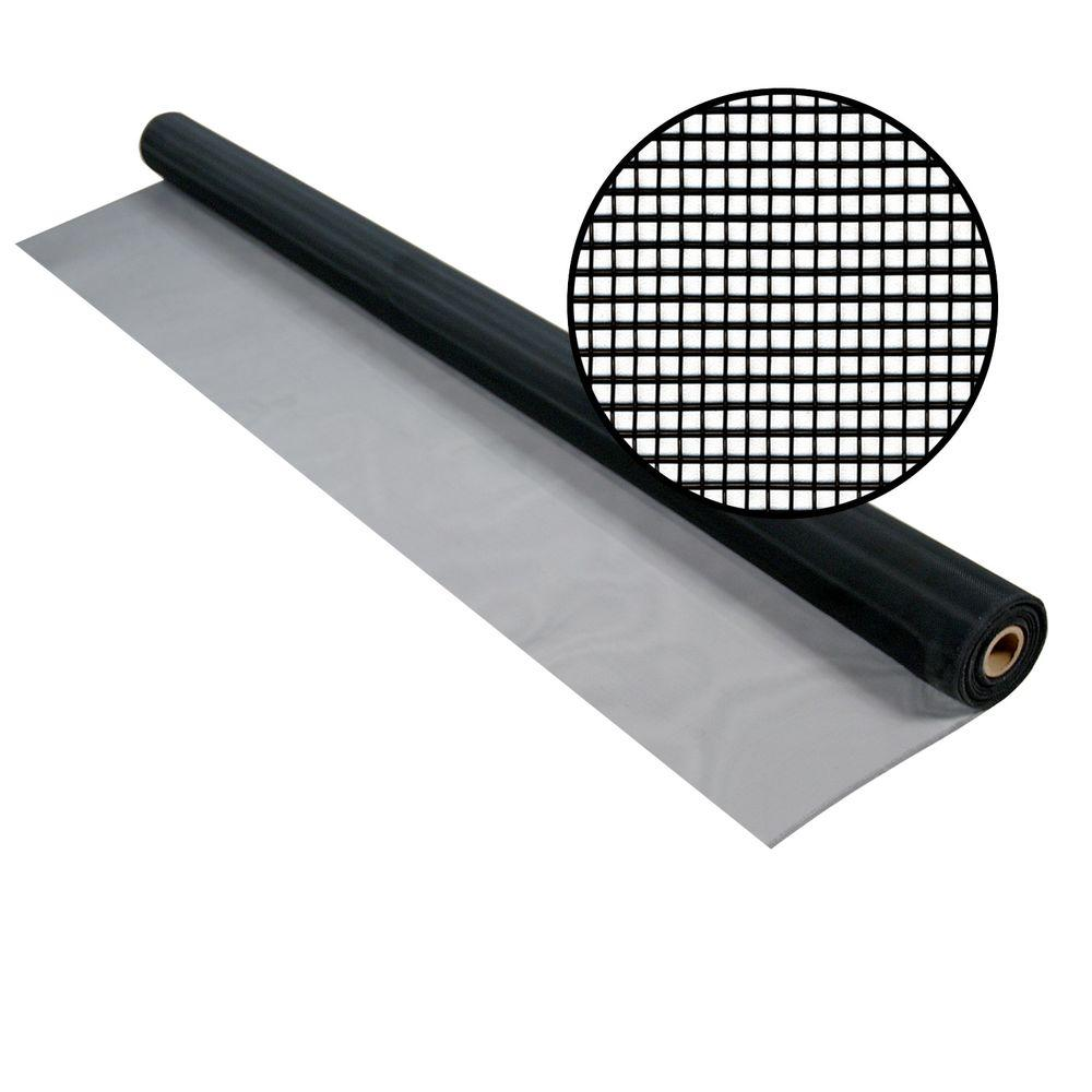 Phifer 60 in. x 50 ft. Charcoal Aluminum Screen