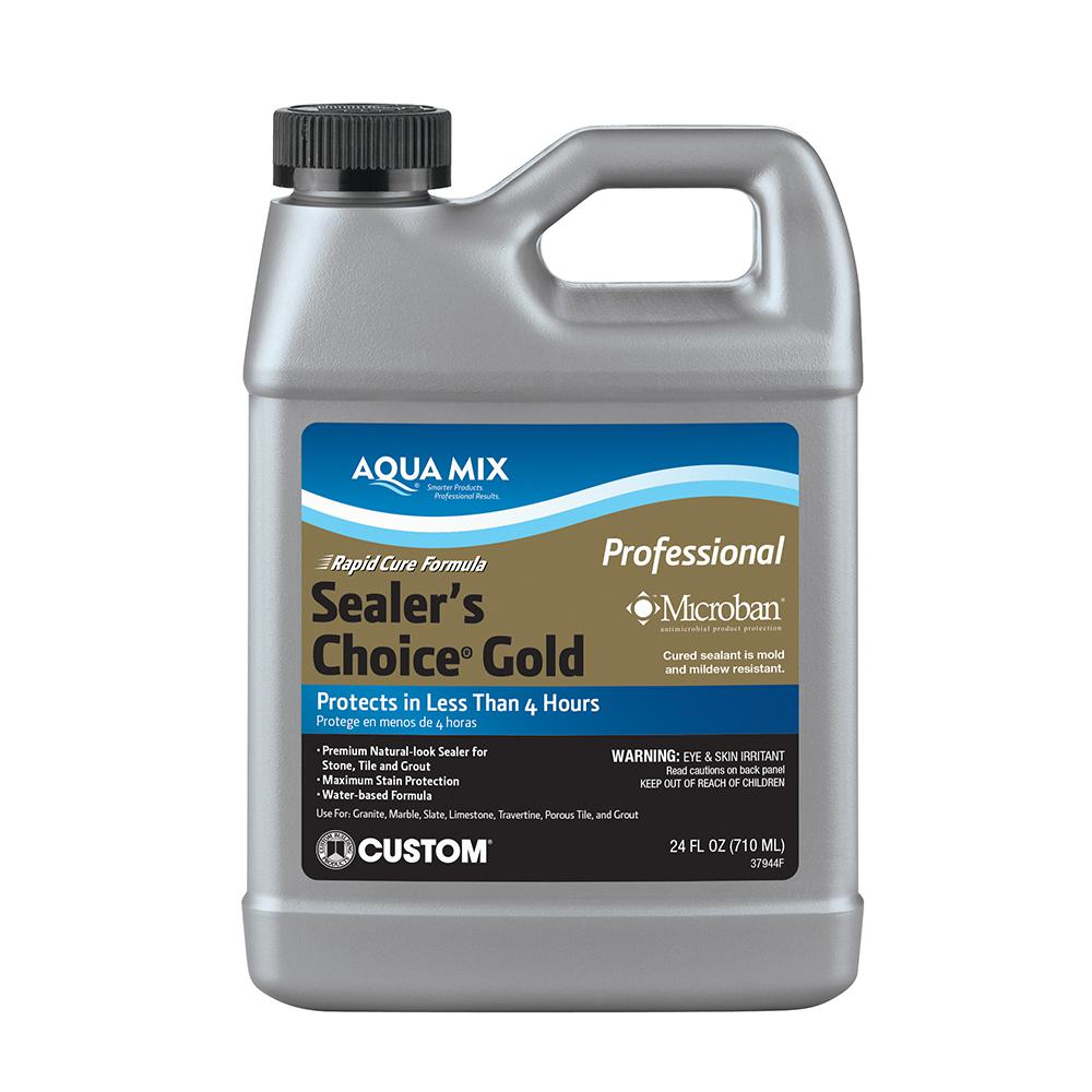 Custom Building Products Aqua Mix Sealers Choice Gold Oz - Ceramic tile protective coating