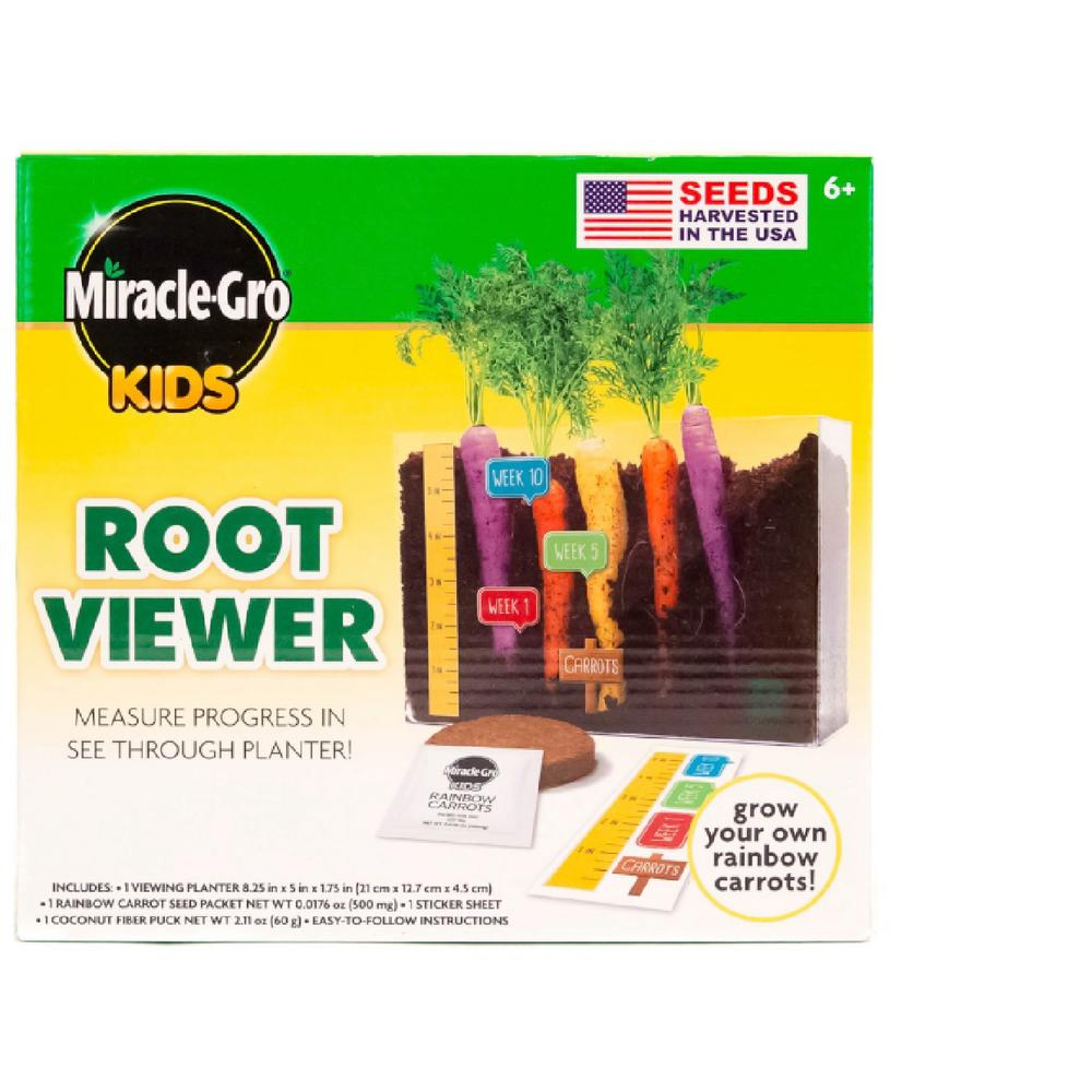 Miracle Gro Root Viewer Planter 71919 The Home Depot