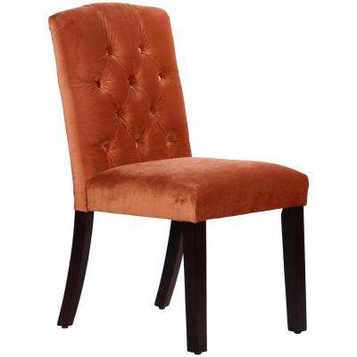 Mystere Hacienda Tufted Arched Dining Chair