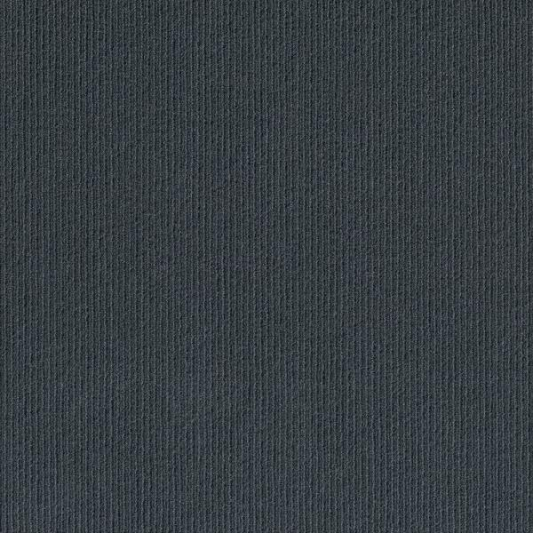 Peel and Stick Willingham Charcoal Pattern 18 in. x 18 in. Residential Carpet Tile (16 Tiles/Case)