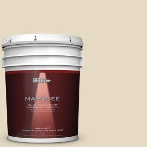 BEHR MARQUEE 5 gal. #MQ2-31 Scribe One-Coat Hide Matte Interior Paint by BEHR MARQUEE