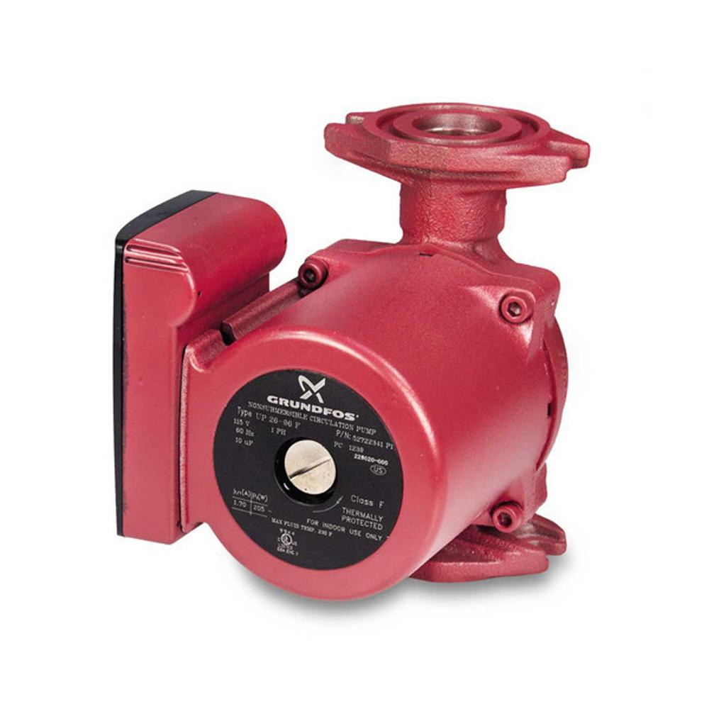 grundfos up26 96f 1 12 hp 115 volt circulator pump 52722341 the home depot. Black Bedroom Furniture Sets. Home Design Ideas
