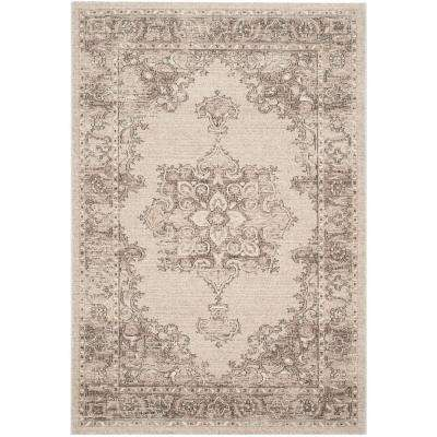 Carmel Beige/Brown 4 ft. x 6 ft. Area Rug