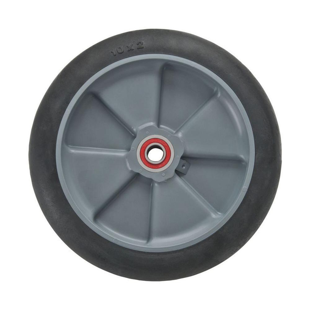 hand truck wheel balloon cushion rubber with sealed the home depot