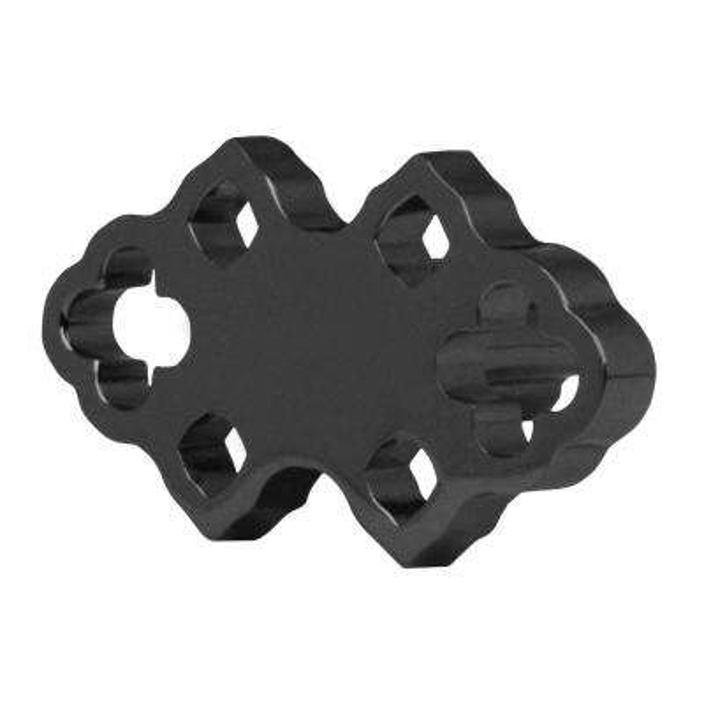 Granada 1-7/10 x 1 in. Black Nickel Cabinet Knob