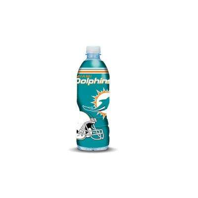 Miami Dolphins 16.9 fl. oz. Water Bottle Cover