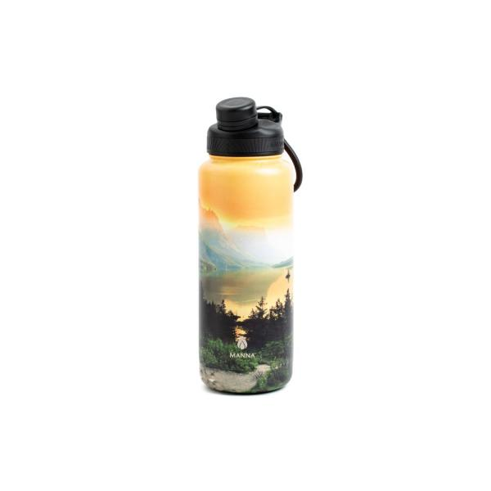 f86b7e9325 Manna Ranger Pro 40 oz. Sunset Stainless Steel Vacuum Insulated Bottle