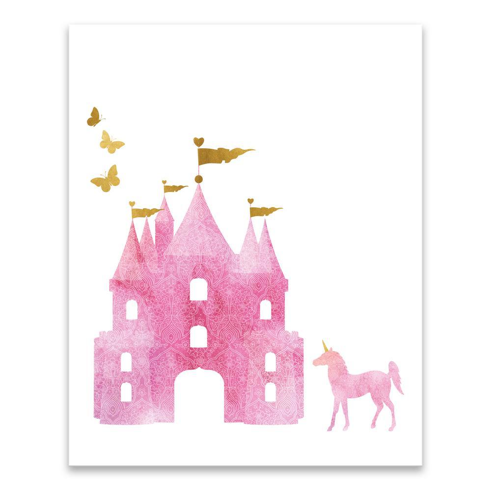 """Dreamy Castle"" by Lot26 Studio Printed Canvas Wall Art"