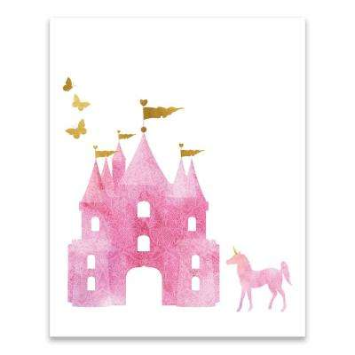 """Dreamy Castle"" by Lot26 Studio Printed Canvas Wall Art"