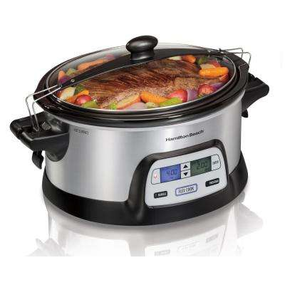 FlexCook Programmable  6 Qt. Slow Cooker