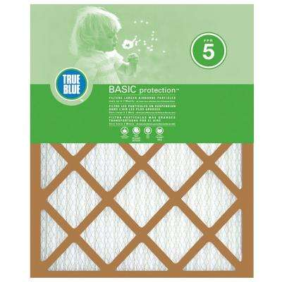 14 in. x 14 in. x 1 in. Basic Pleated FPR 5 Air Filter (4-Pack)