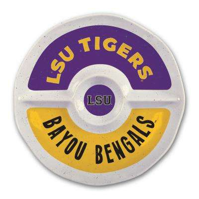 LSU 15 in. Chip and Dip Server