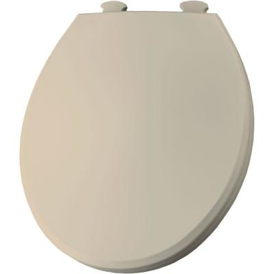 TOTO SoftClose Round Closed Front Toilet Seat in Sedona