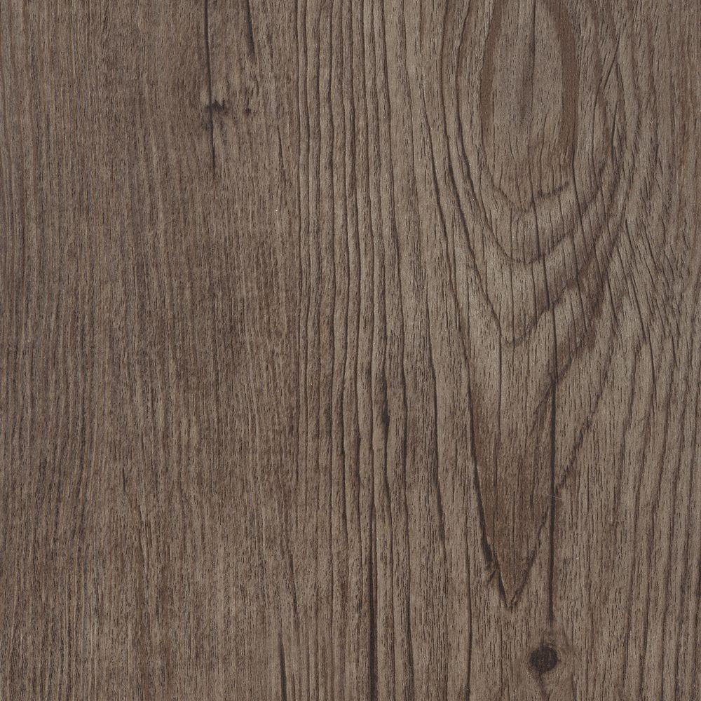 Take Home Sample - Embossed Hickory Firethorn Vinyl Plank Flooring - 5 in. x 7 in.