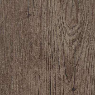 Take Home Sample - Embossed Hickory Firethorn Vinyl Plank Flooring - 5 in. x 7 in.