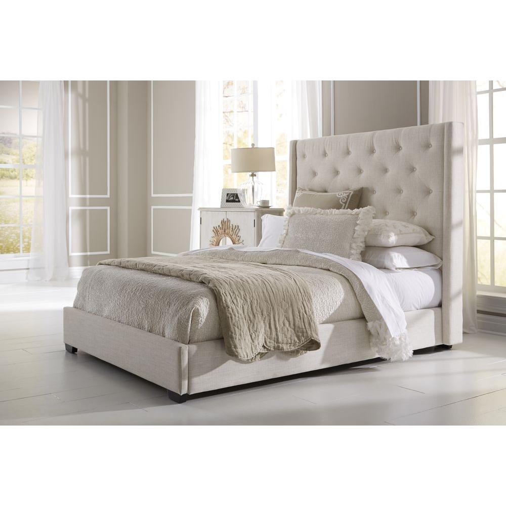 Beautiful Upholstered King Bedroom Set Collection