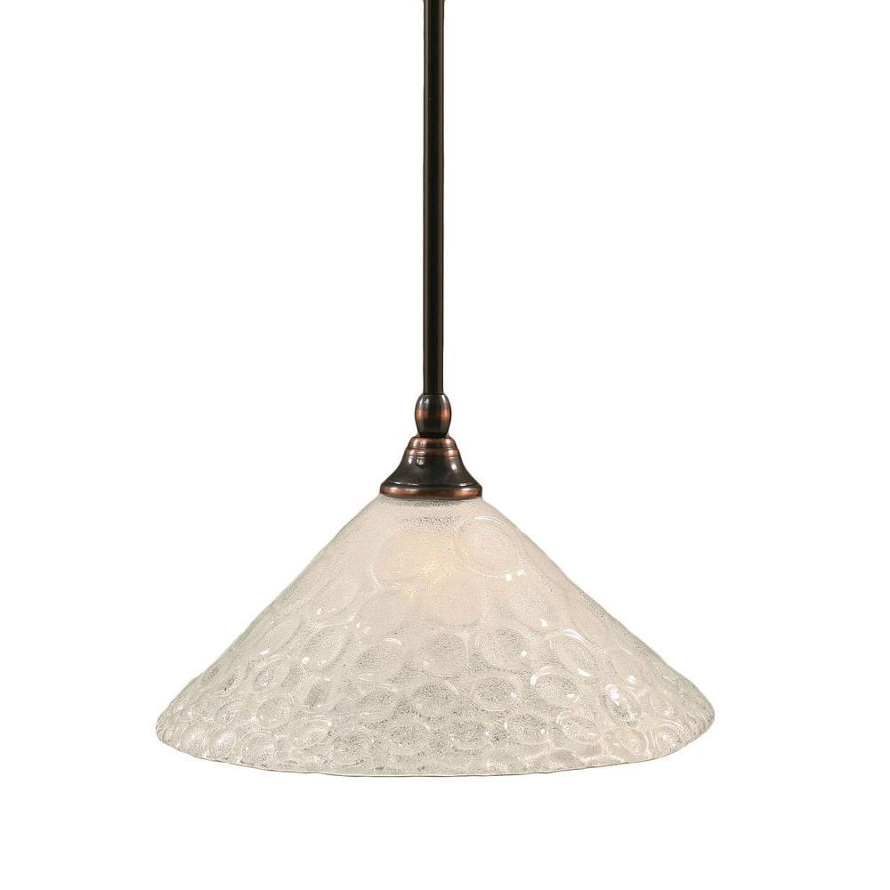 Concord 1-Light Black Copper Pendant