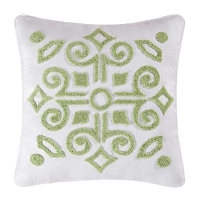 18 in. x 18 in. Boxwood Abbey Pillow