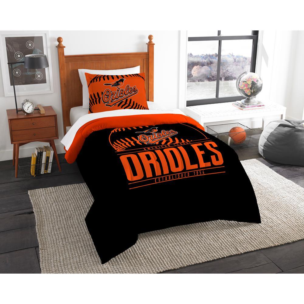 Orioles 3-Piece Multi Color GrandSlam Twin Comforter Set