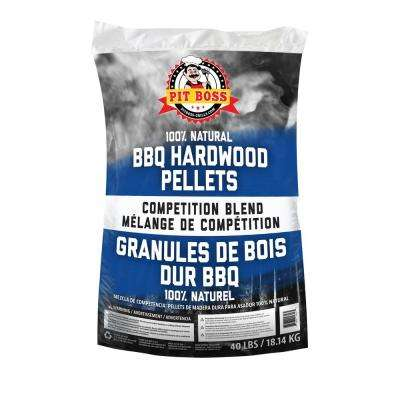 Competition Blend All Natural Harwood Pellets