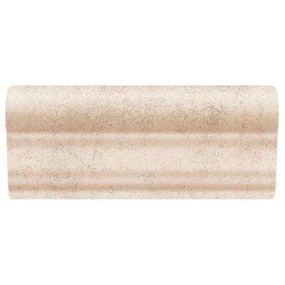 Briton Bone 2 in. x 6 in. Ceramic Chair Rail Wall Tile