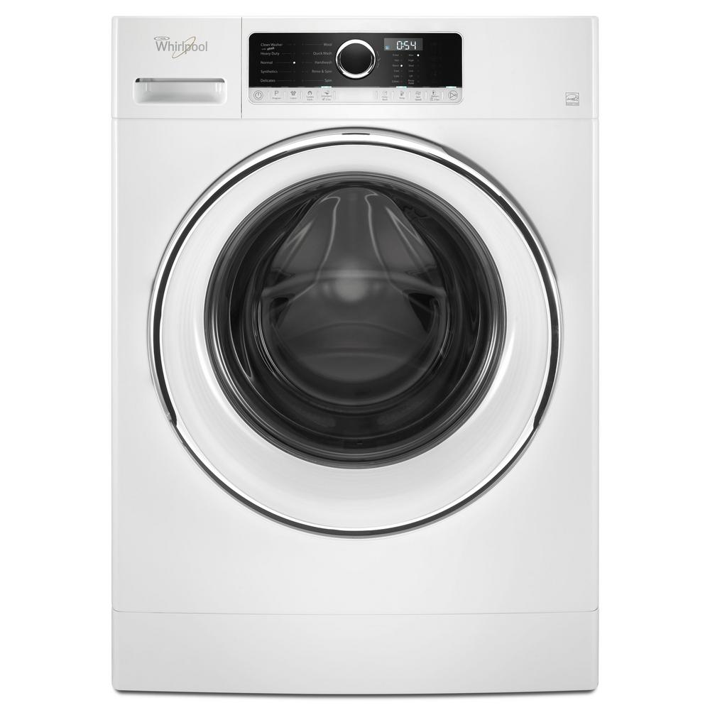Whirlpool 2 3 Cu Ft Compact Stackable White Front Load Washing Machine With Tumblefresh