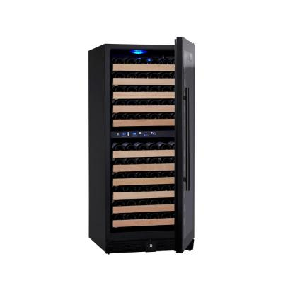 Dual Zone 23.42 in. 106-Bottle Convertible Wine Cooler