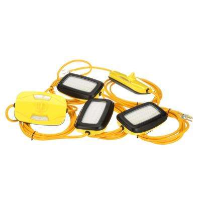 100 ft. 14/3 SJTW LED String Light, Yellow