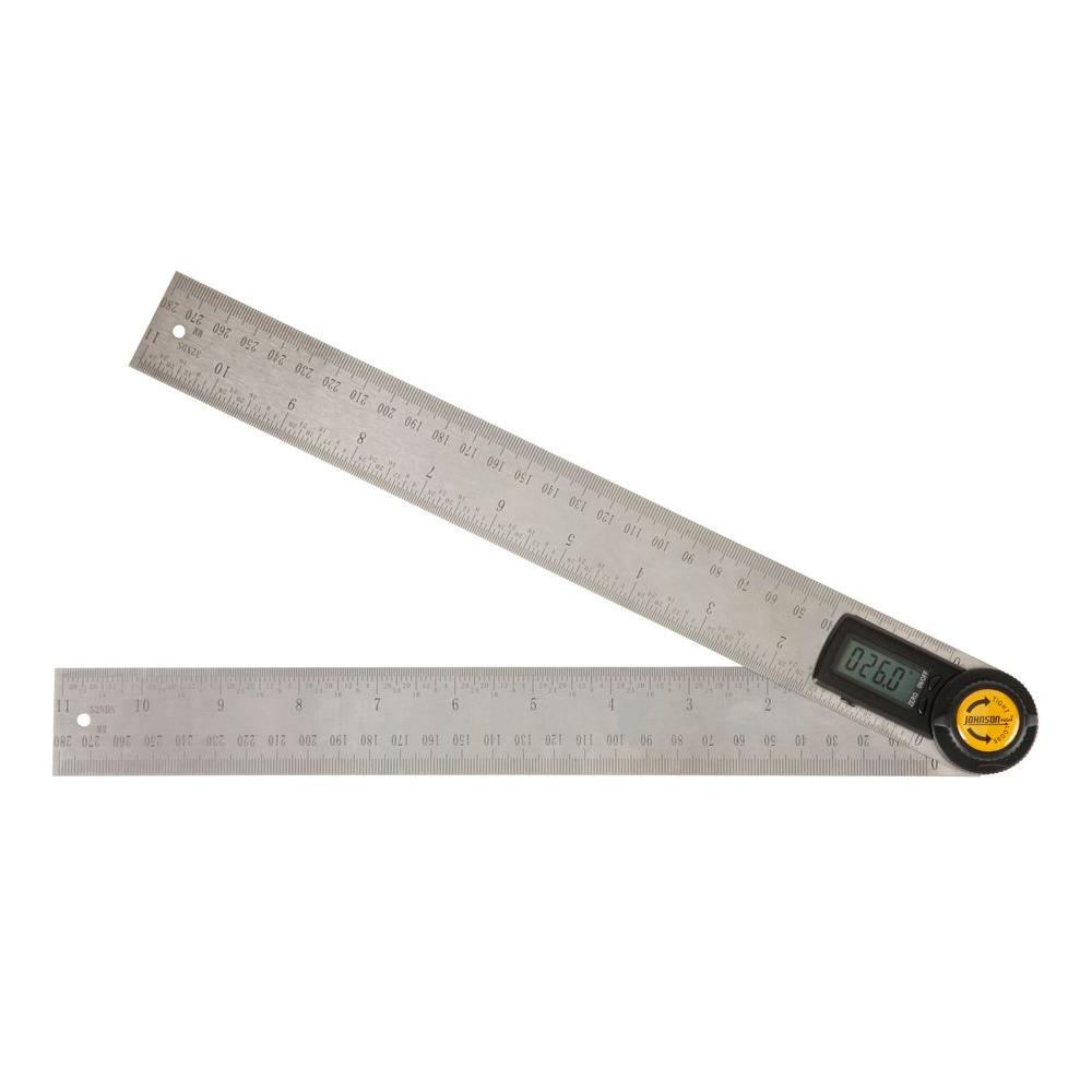 Digital Angle Finder >> Johnson 11 In Digital Angle Locator And Ruler