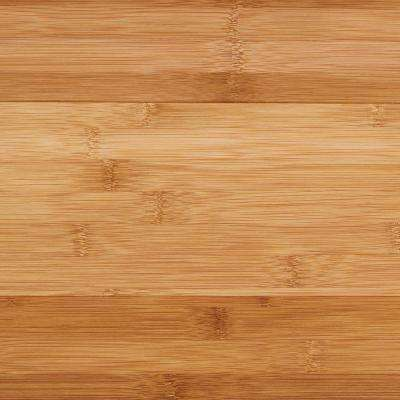 Horizontal Toast 3/8 in. T x 5 in. W x 38.59 in. L Engineered Click Bamboo Flooring (21.44 sq. ft./case)