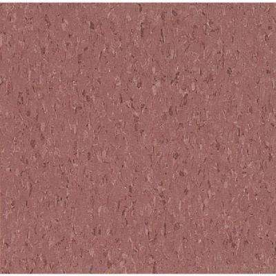Take Home Sample - Imperial Texture VCT Cayenne Red Standard Excelon Commercial Vinyl Tile - 6 in. x 6 in.