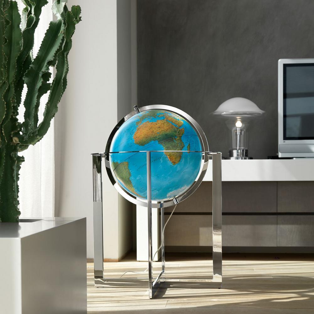 Maranello 20 in. Blue Ocean Globe