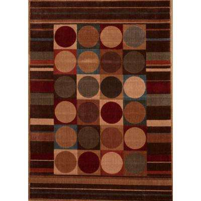 Rhythm Multicolor 7 ft. 8 in. x 10 ft. 10 in. Area Rug